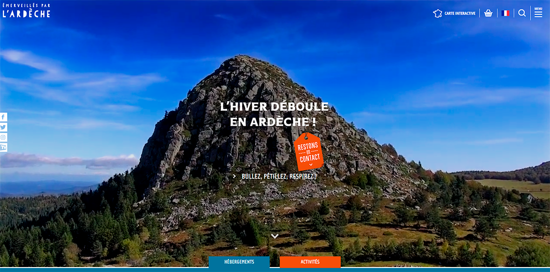 Site web d'Ardeche Guide
