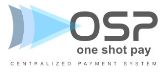 Logo One Shot Pay solution de paiement en ligne sécurisée